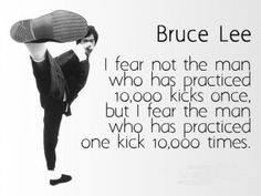 Inspiration from Bruce Lee